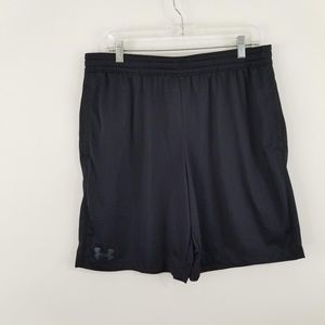 Under Armour Men's Black Fitted Gym Shorts Size XL